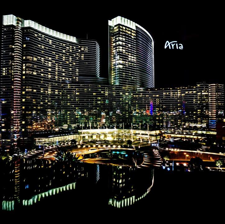 Aria hotel in Las Vegas