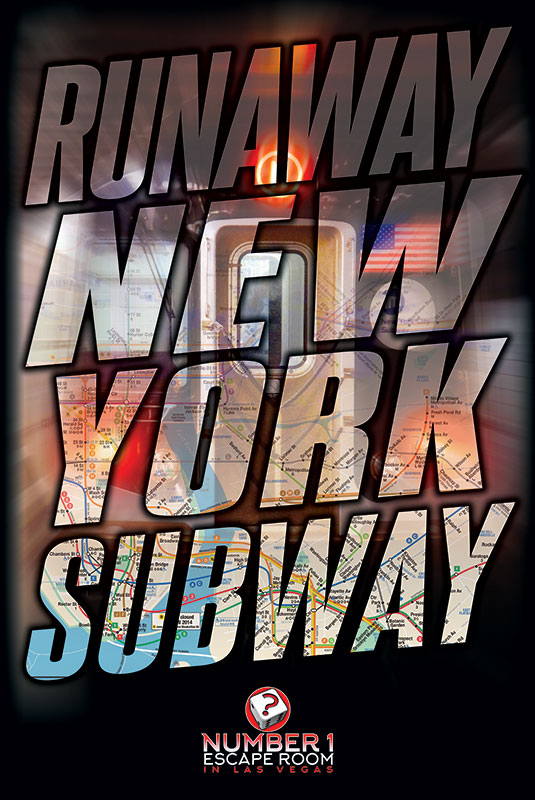 runaway new york subway escape game, number one escape room