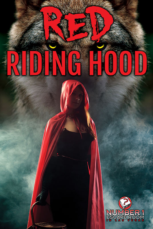red riding hood escape game, number one escape room las vegas